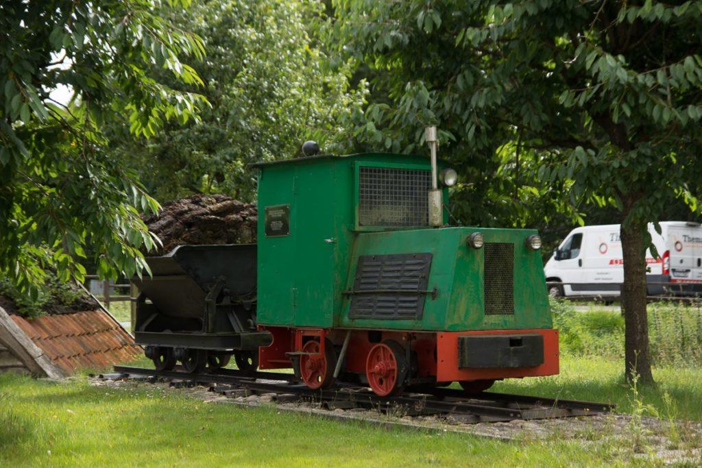 Moorbahn-Deko